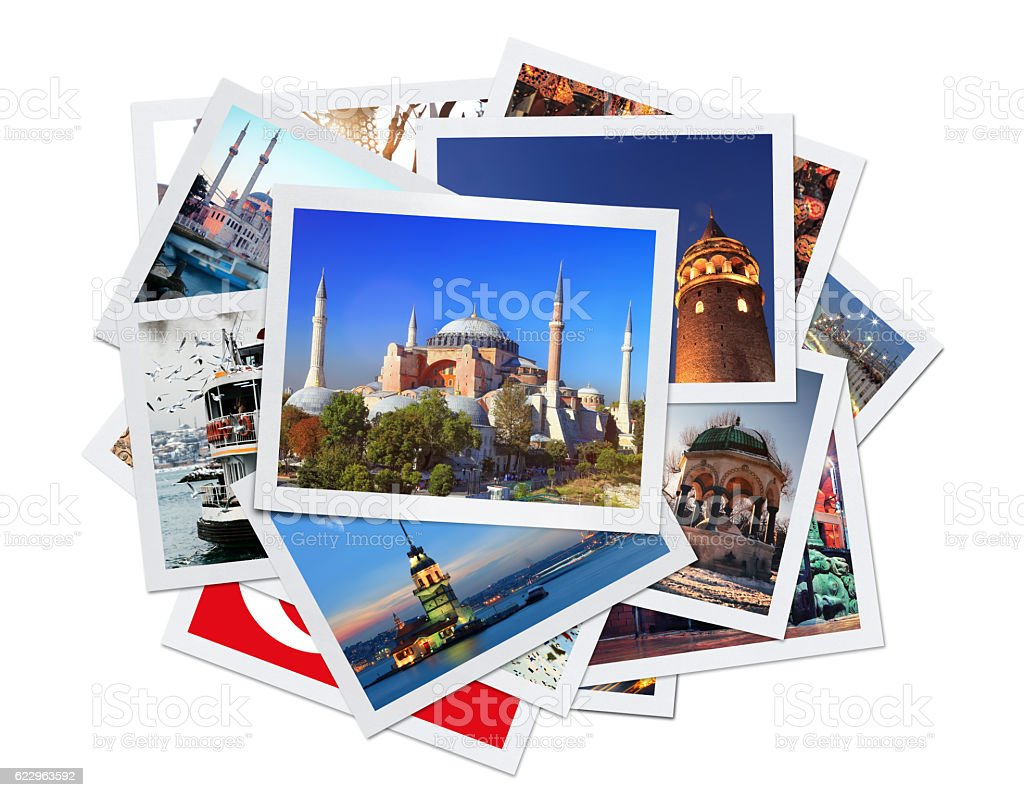 Istanbul Collage (Clipping Path) stock photo