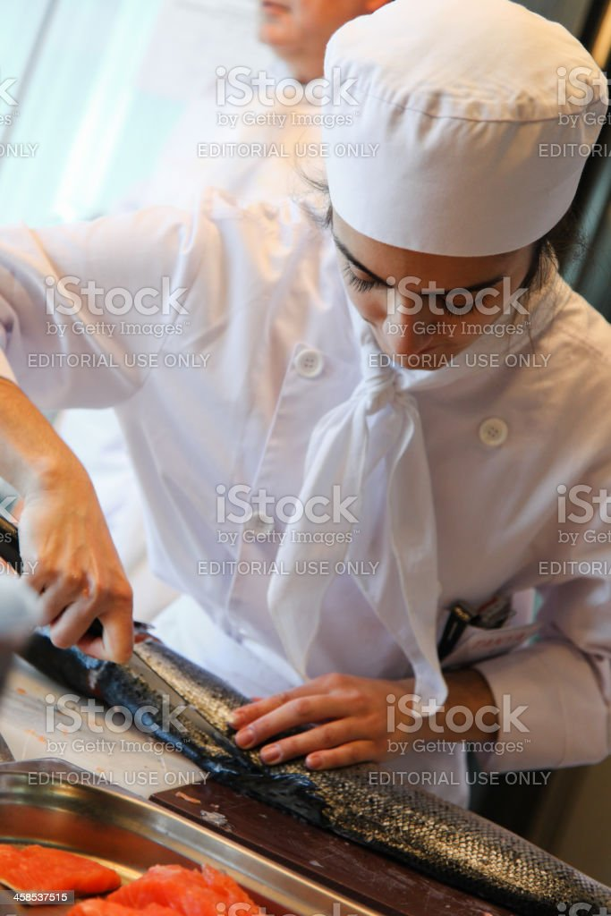 Istanbul Culinary Institute royalty-free stock photo