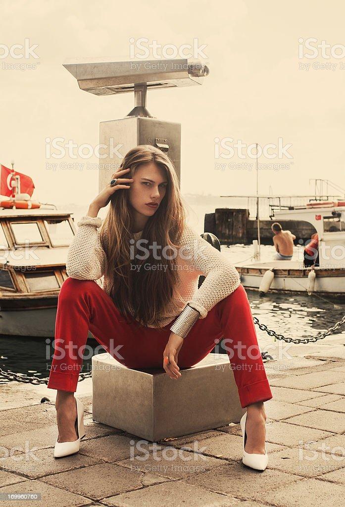 Istanbul fashion royalty-free stock photo