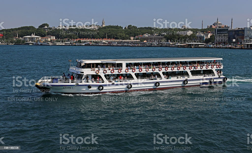 Istanbul Ferry stock photo
