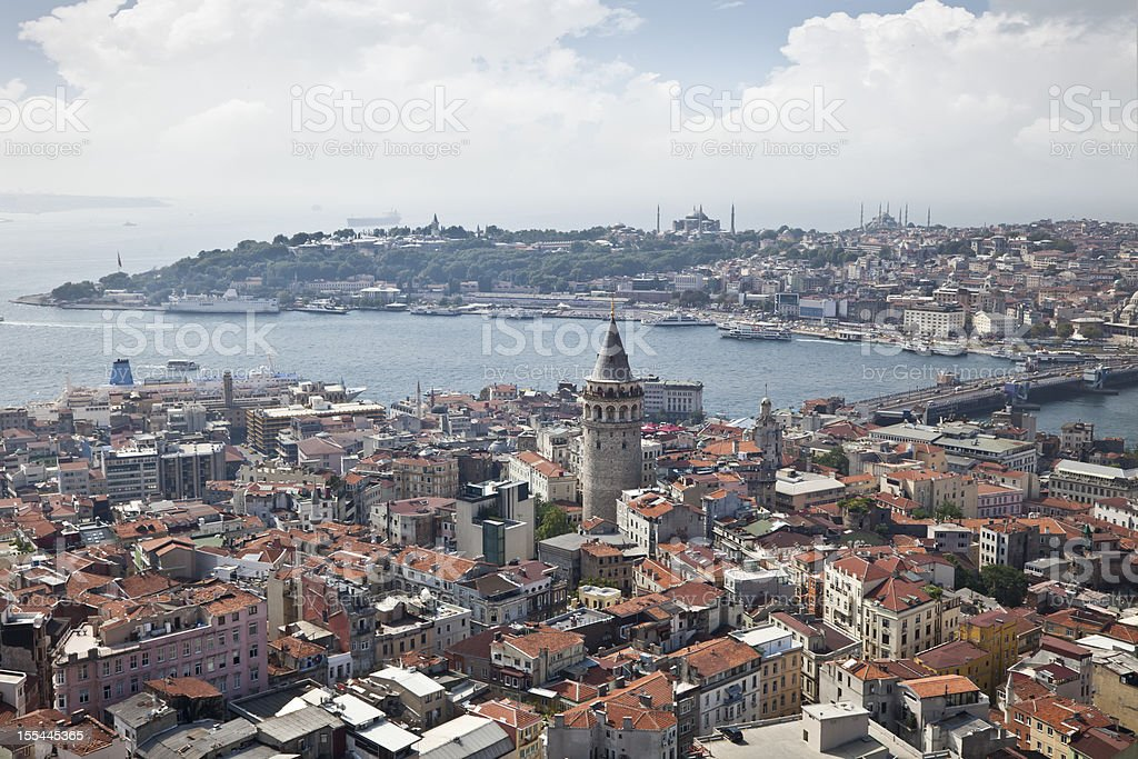 Istanbul Galata stock photo