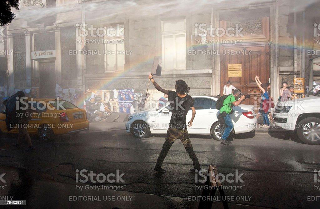 23. Istanbul Gay Pride stock photo