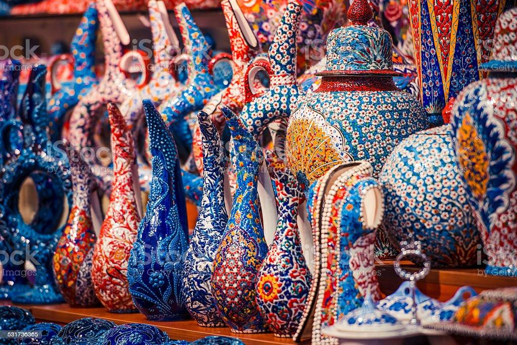 Istanbul Grand Bazaar stock photo