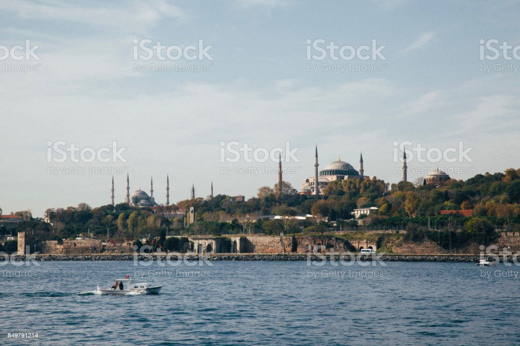istanbul Hagia Sophia stock photo