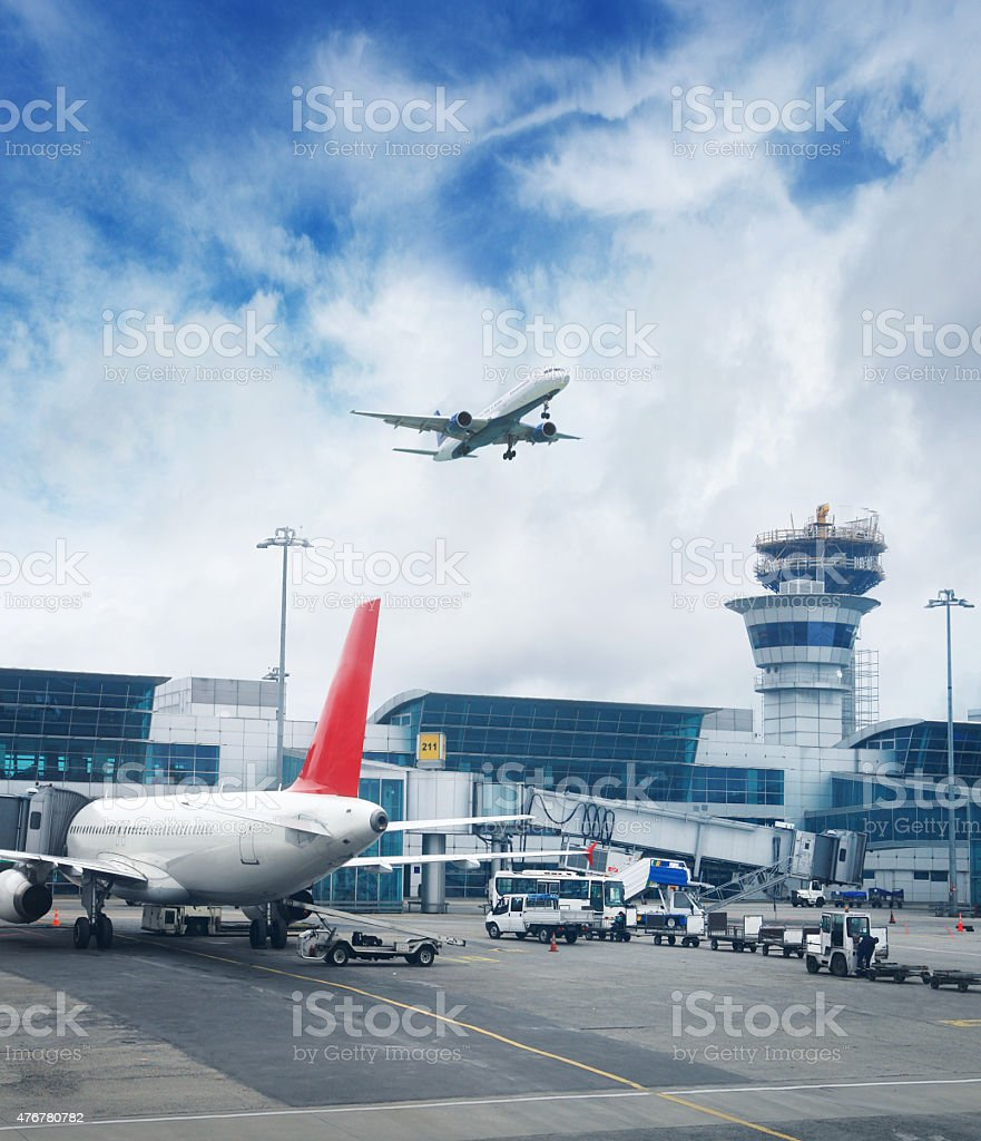 Istanbul International Airport stock photo