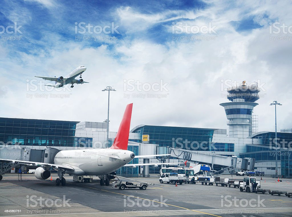 Istanbul International Airport stock photo