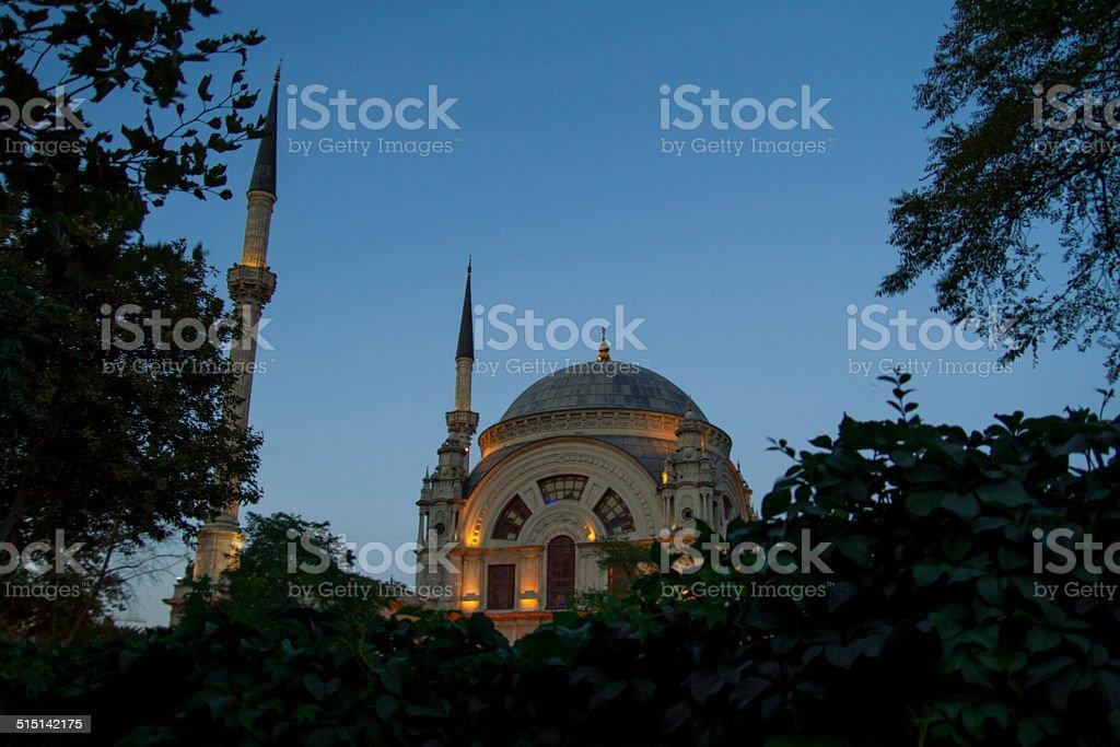 Istanbul Kabatas Mosque stock photo