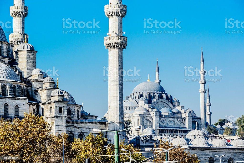 Istanbul Mosque stock photo