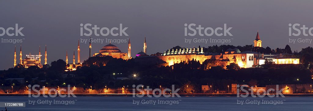 istanbul panorama - 1 stock photo