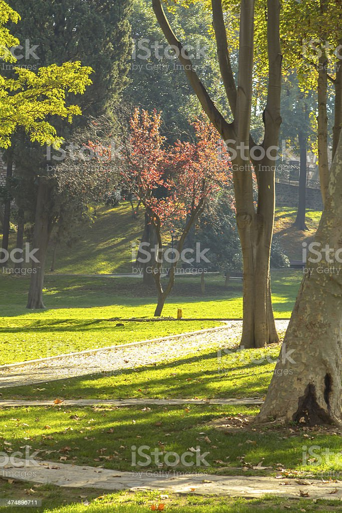 istanbul park royalty-free stock photo