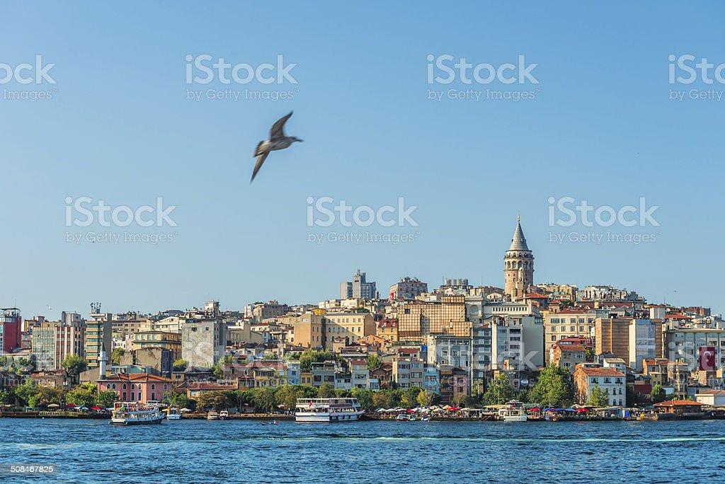Istanbul Skyline stock photo