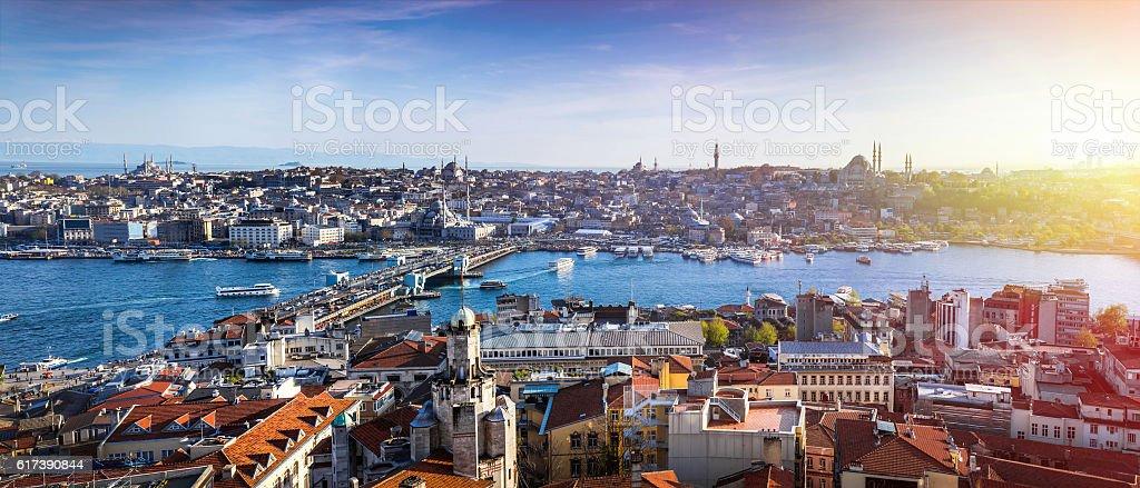 Istanbul the capital of Turkey stock photo