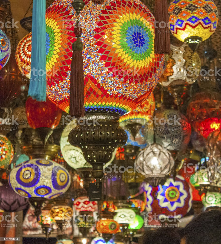 Istanbul - The Grand Bazaar stock photo