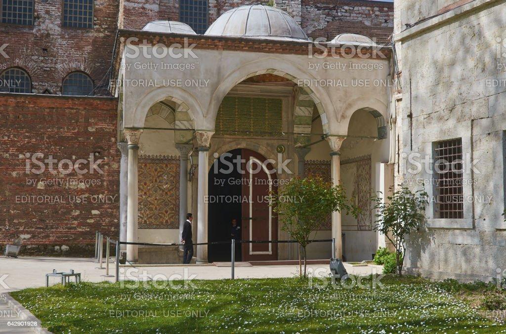 Istanbul, Turkey, April, 06, 2016, Old Hagia Sophia, editorial. stock photo