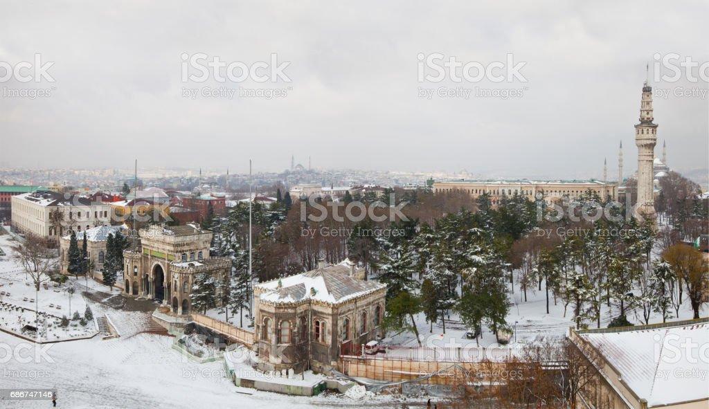 Istanbul University stock photo