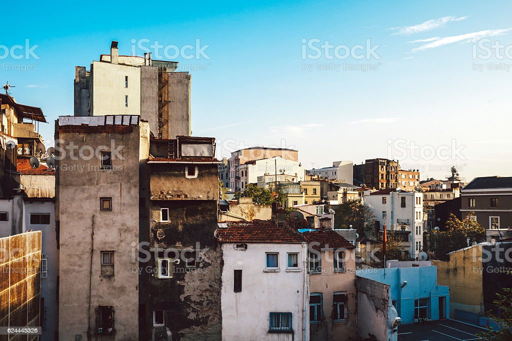 Istanbul view. stock photo