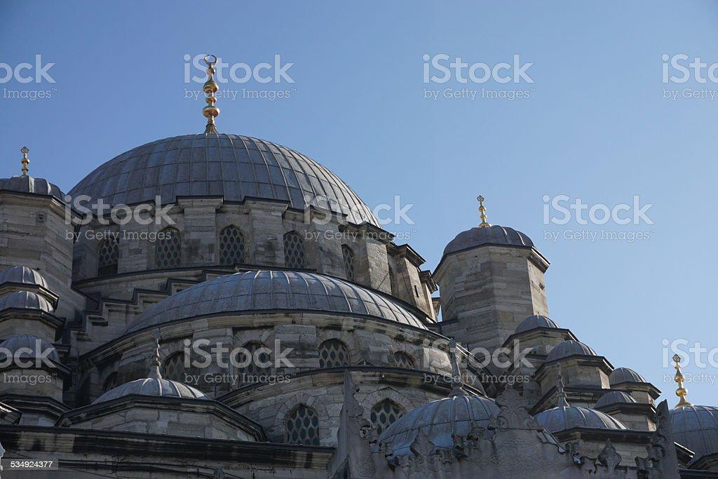 istanbul / yeni camii stock photo