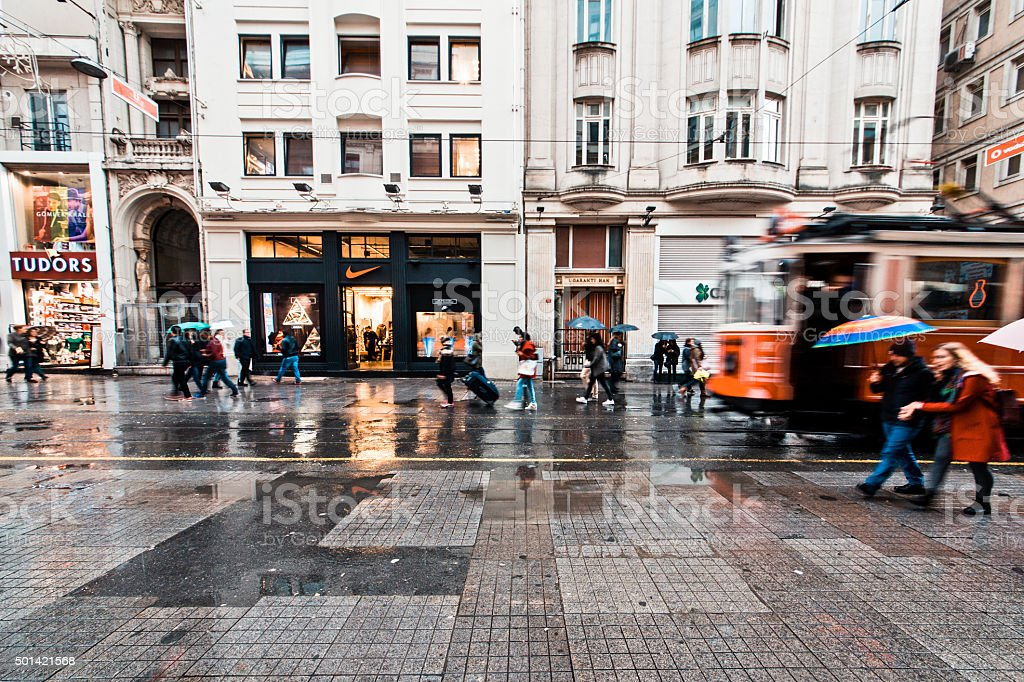 Istiklal stock photo