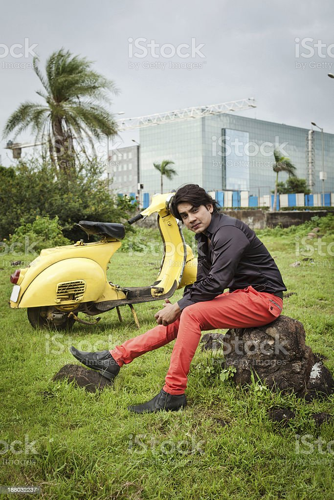 iStock Getty: Cheerful Indian Ethnicity Male Fashion Model stock photo