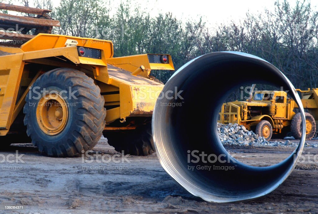 iStock Stock Photo Construction Equipment on site royalty-free stock photo