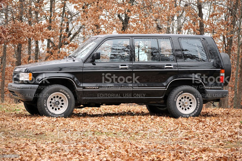 Isuzu Trooper 1992 model year stock photo
