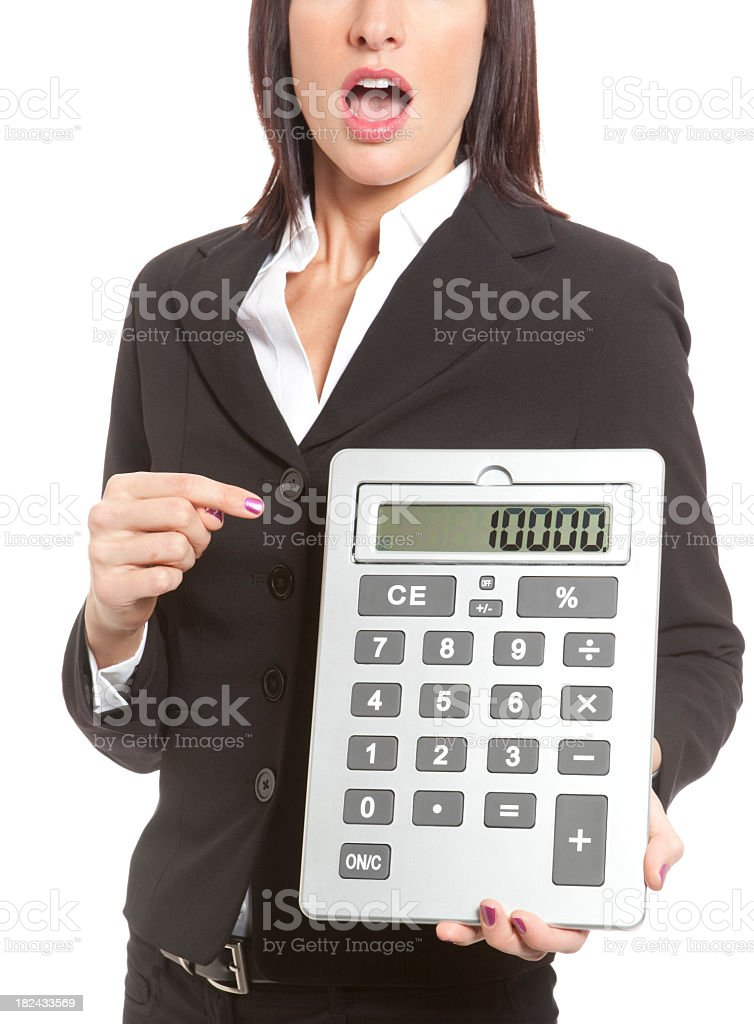 It All Adds Up stock photo