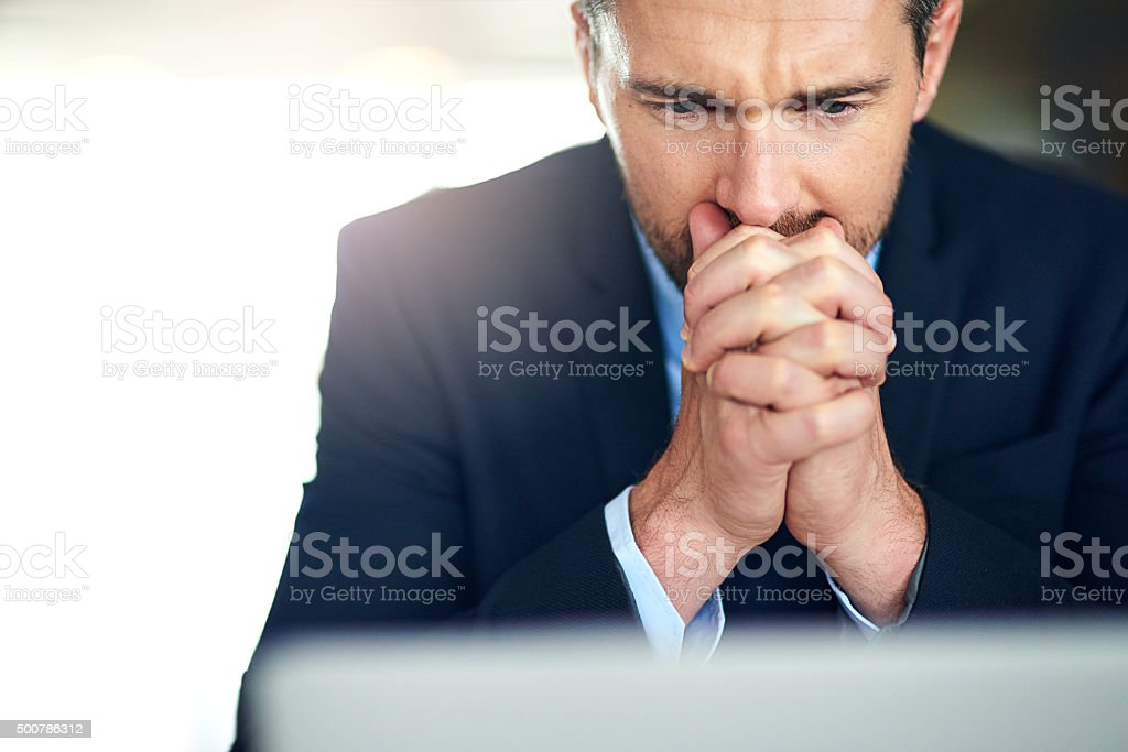 It all comes down to this stock photo