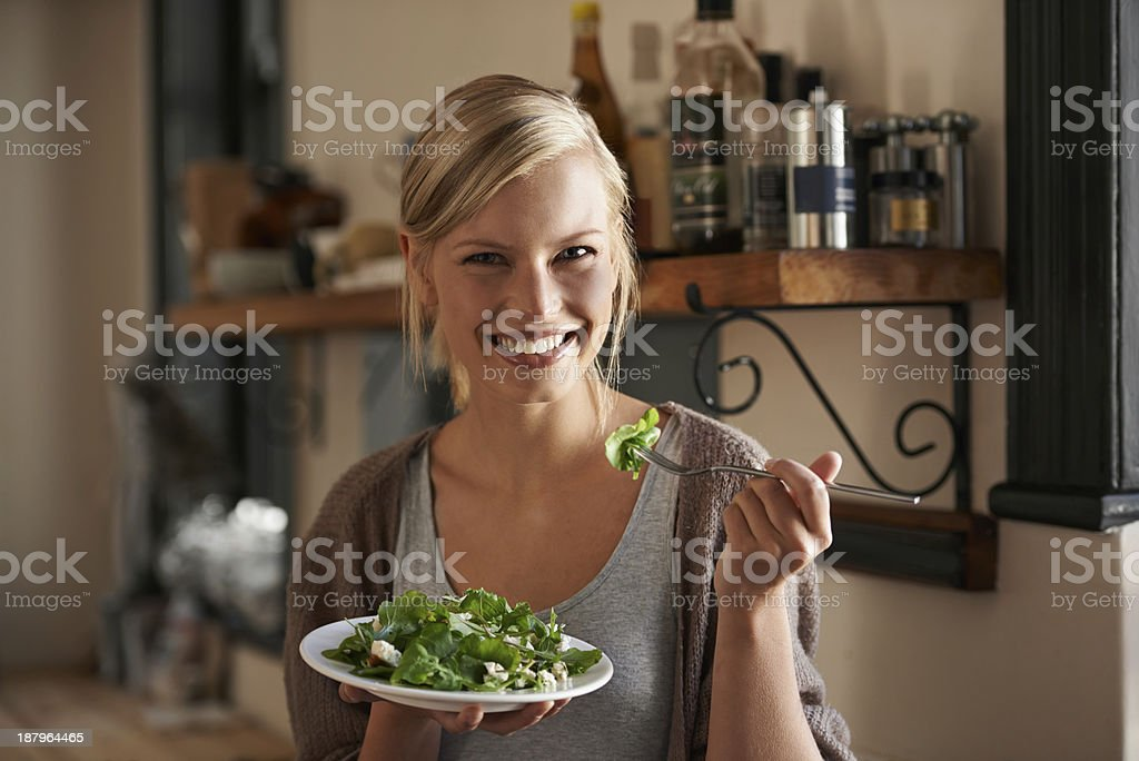 It always tastes better when you make it.. royalty-free stock photo