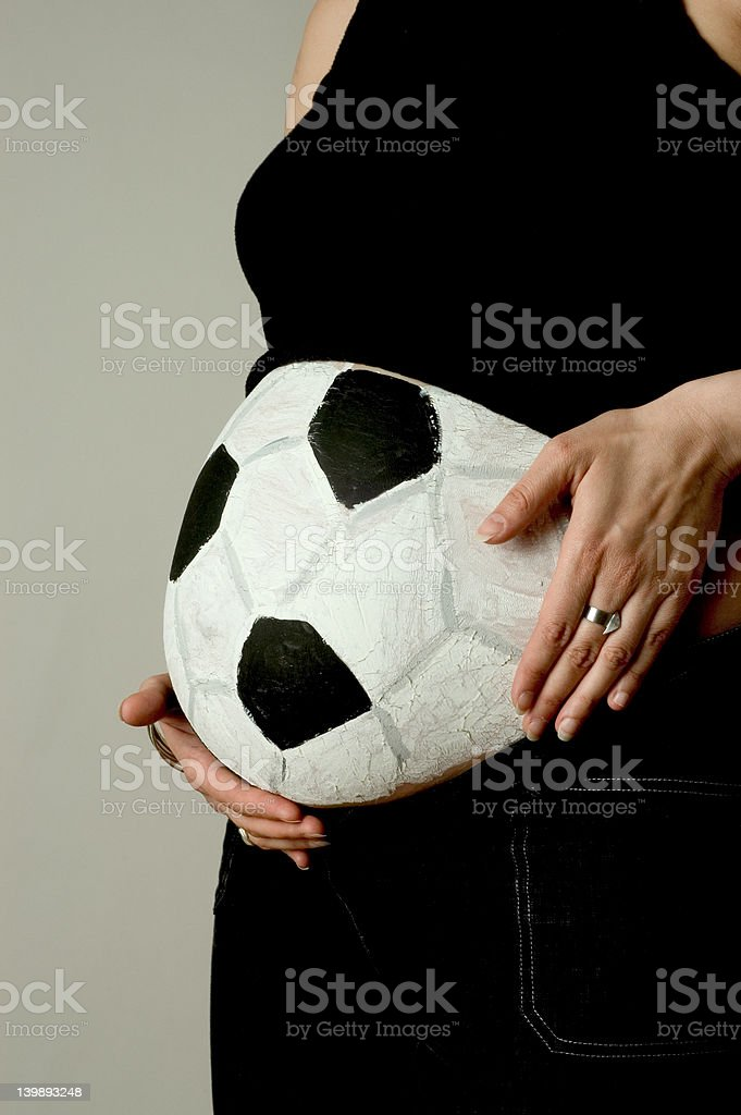 it becomes a ball royalty-free stock photo