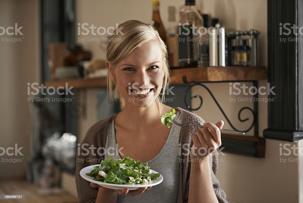 It does your body good! stock photo