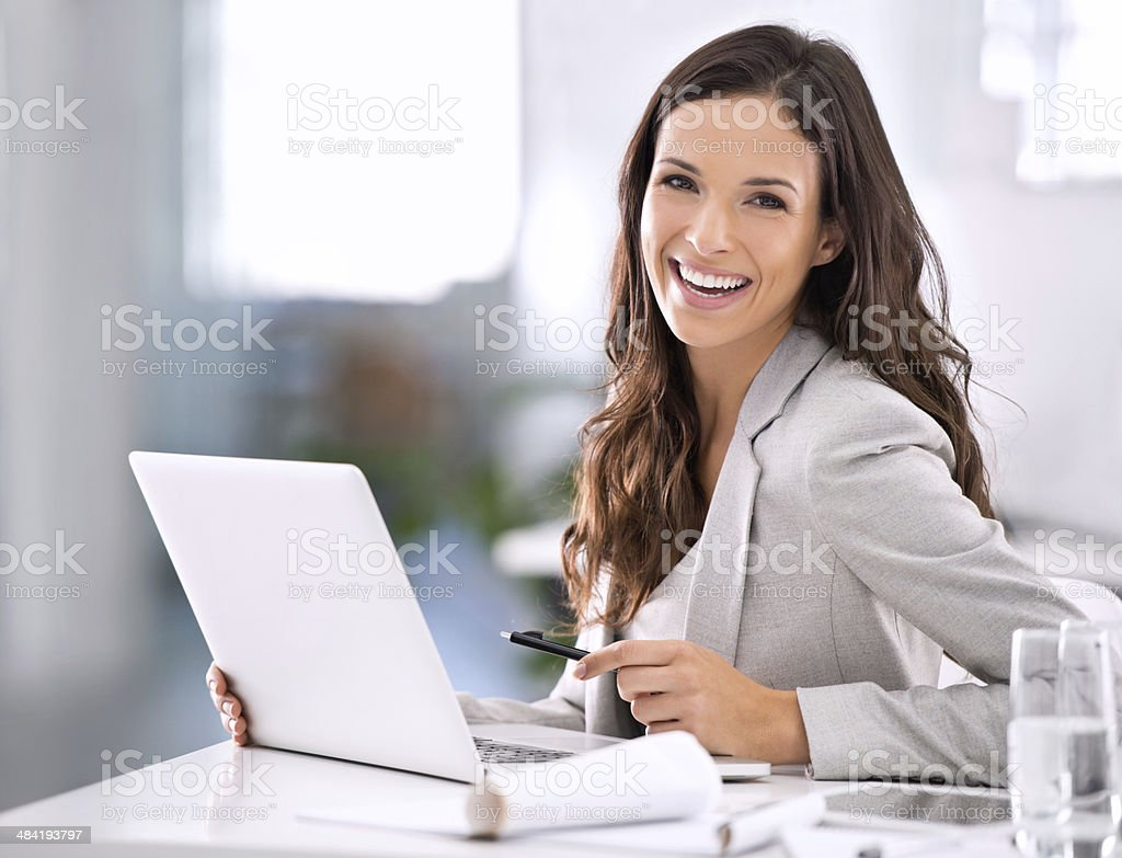 It feels great to have made it! stock photo