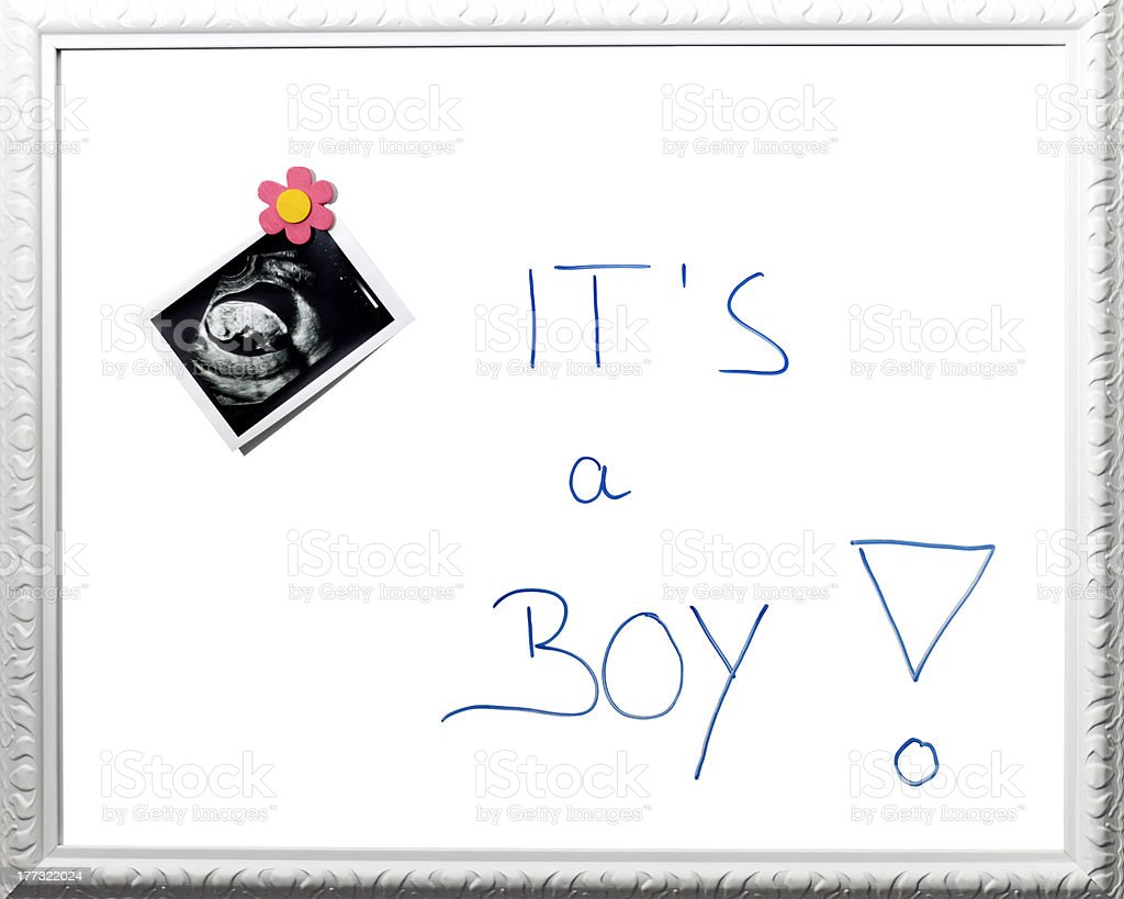 It is a boy ! royalty-free stock photo