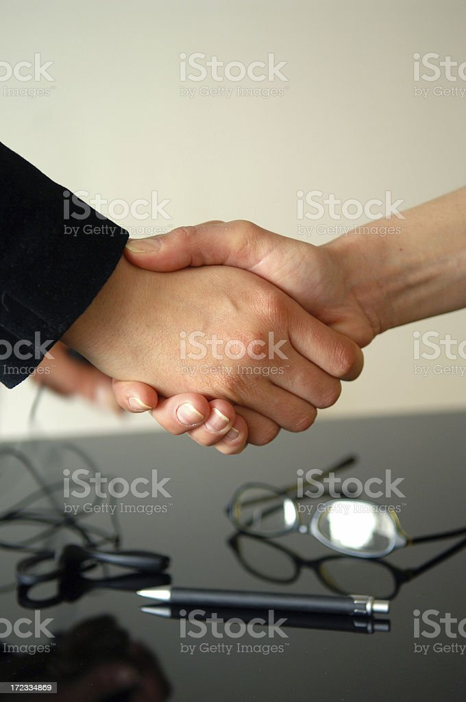it is a deal royalty-free stock photo