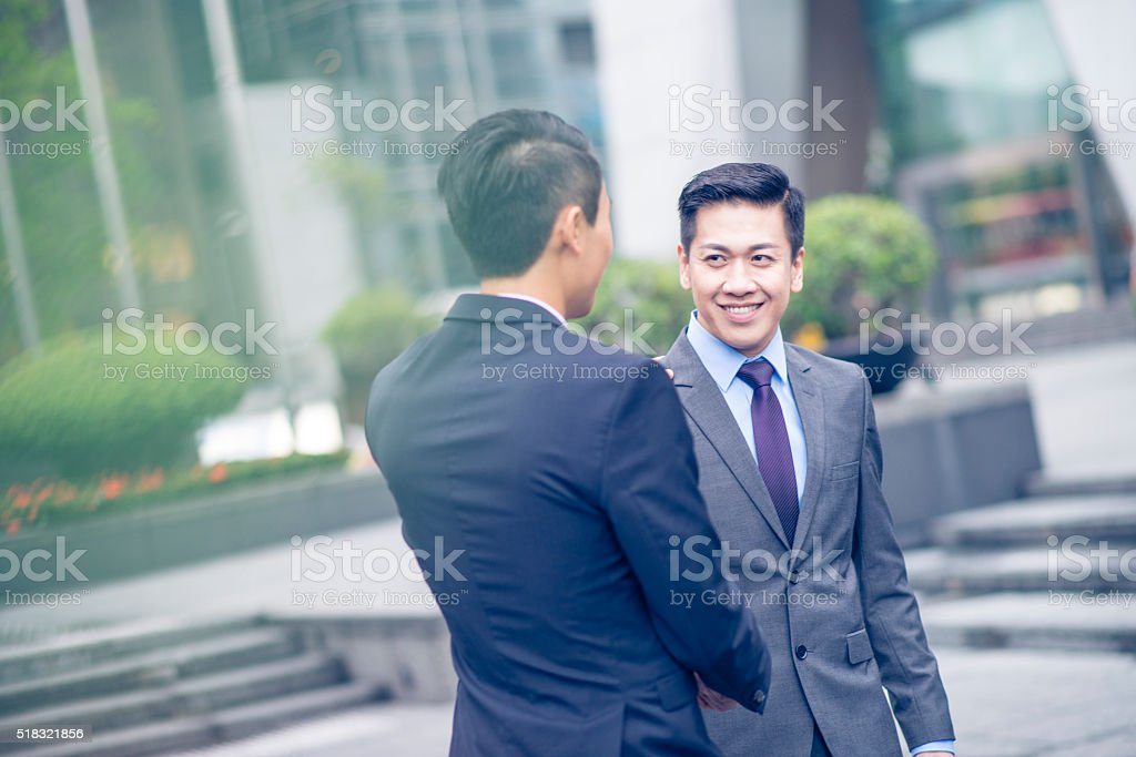 It is great doing business with you stock photo