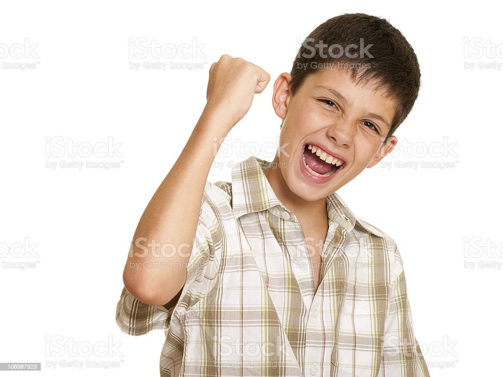 It is my victory! royalty-free stock photo