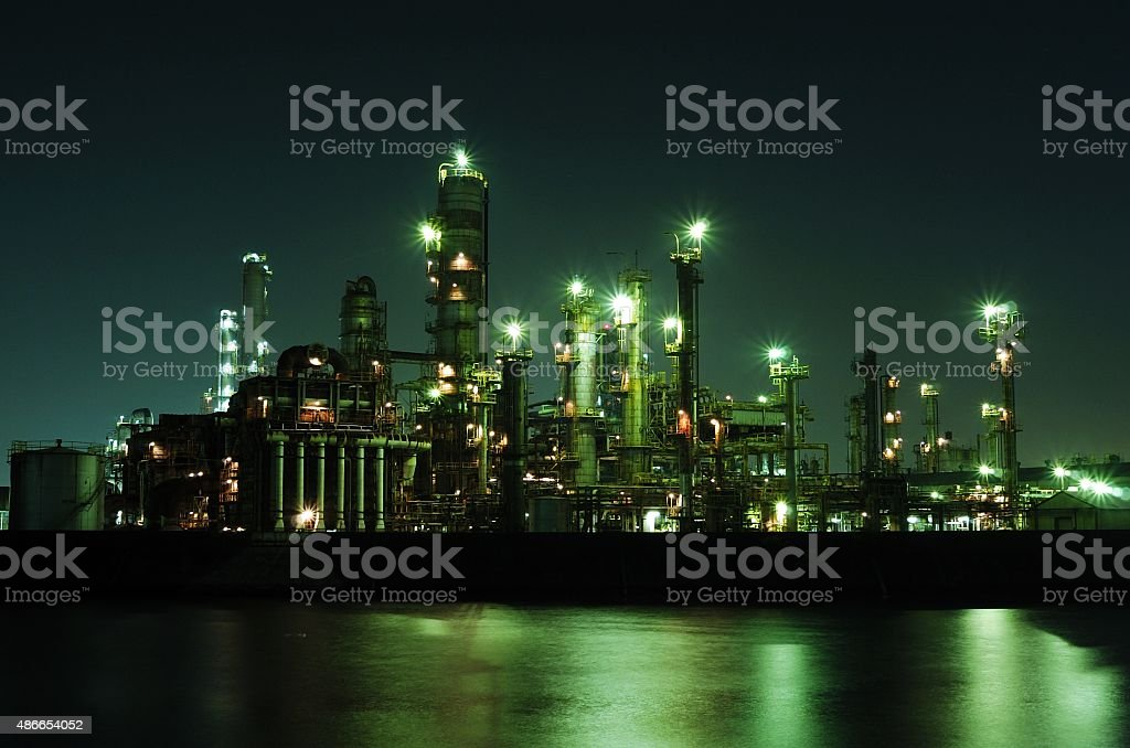 It is the sea and a complex. stock photo