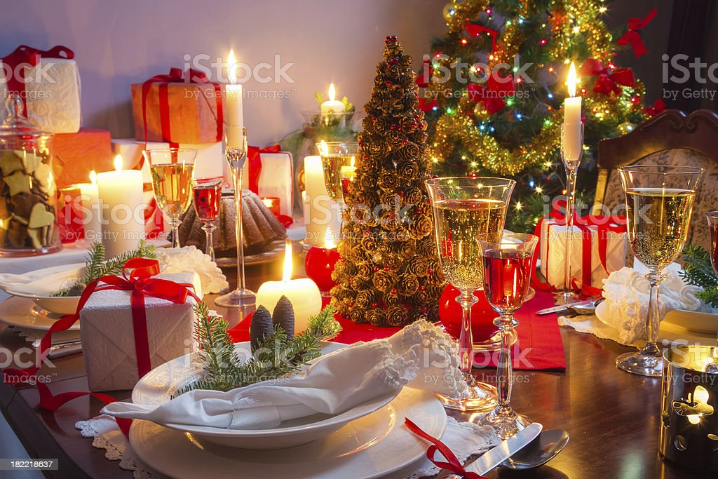 It is time for Christmas Eve royalty-free stock photo