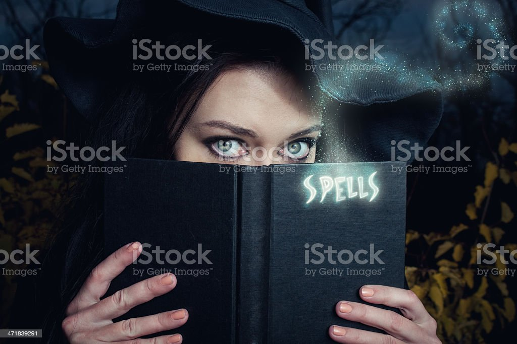 It is time for sorcery royalty-free stock photo