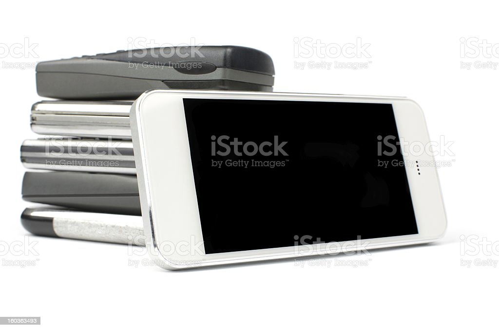 It is time to get a new smartphone! stock photo