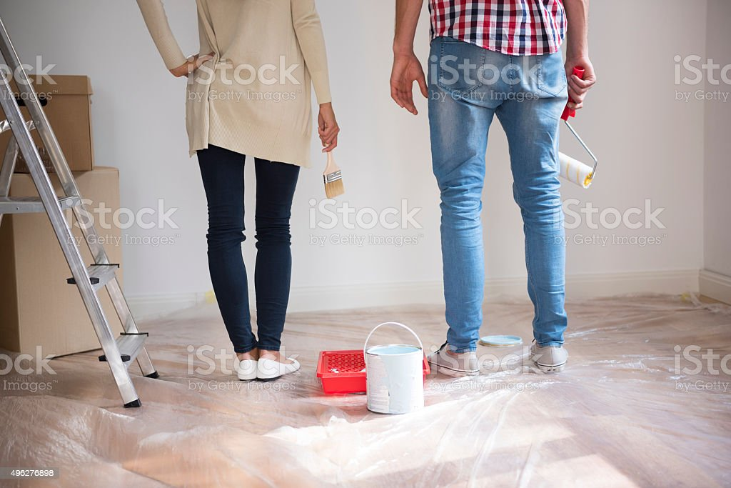 It is time to start this renovation stock photo