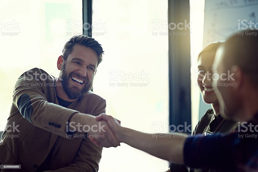 It makes me happy knowing you're part of the team stock photo