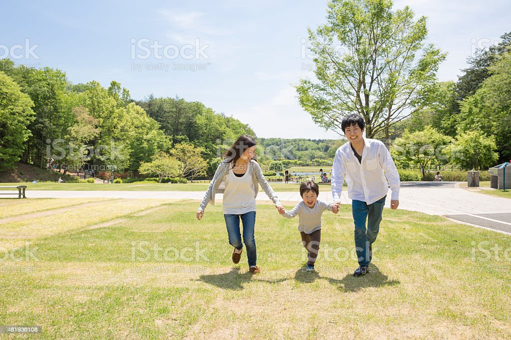 It runs in the family stock photo