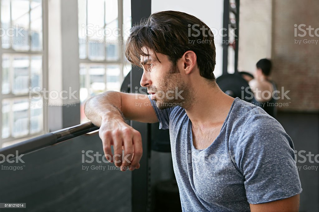 It was hard but worth it stock photo