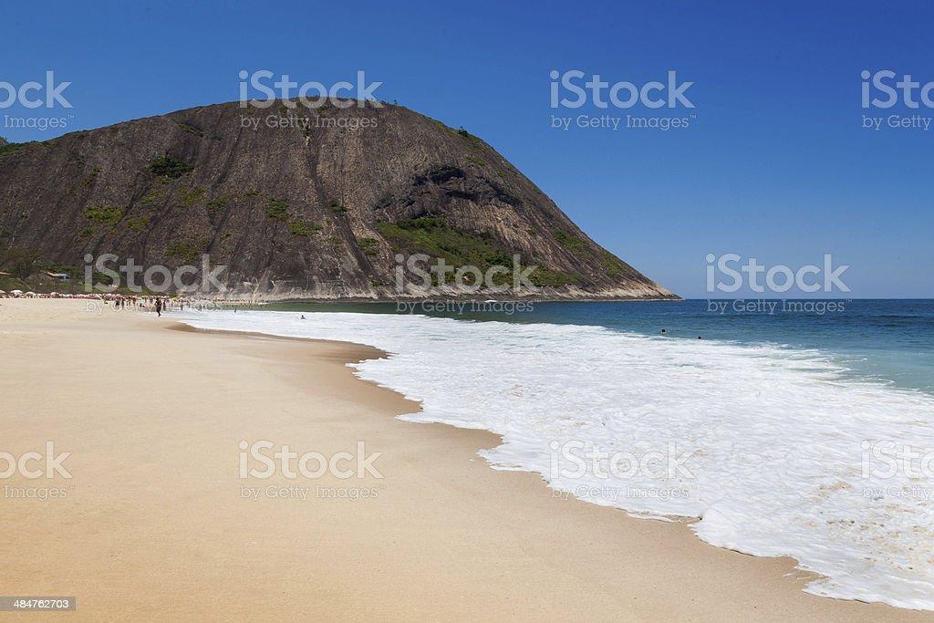 Itacoatiara beach,Niteroi, Rio de Janeiro, Brazil stock photo
