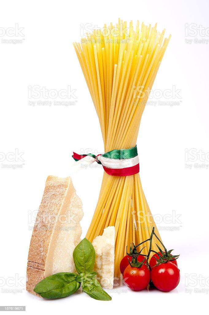 Italia food spaghetti royalty-free stock photo