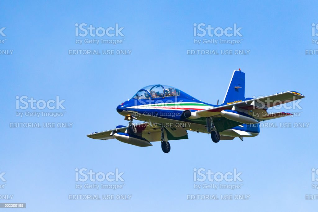 Italian aerobatics team,2 stock photo