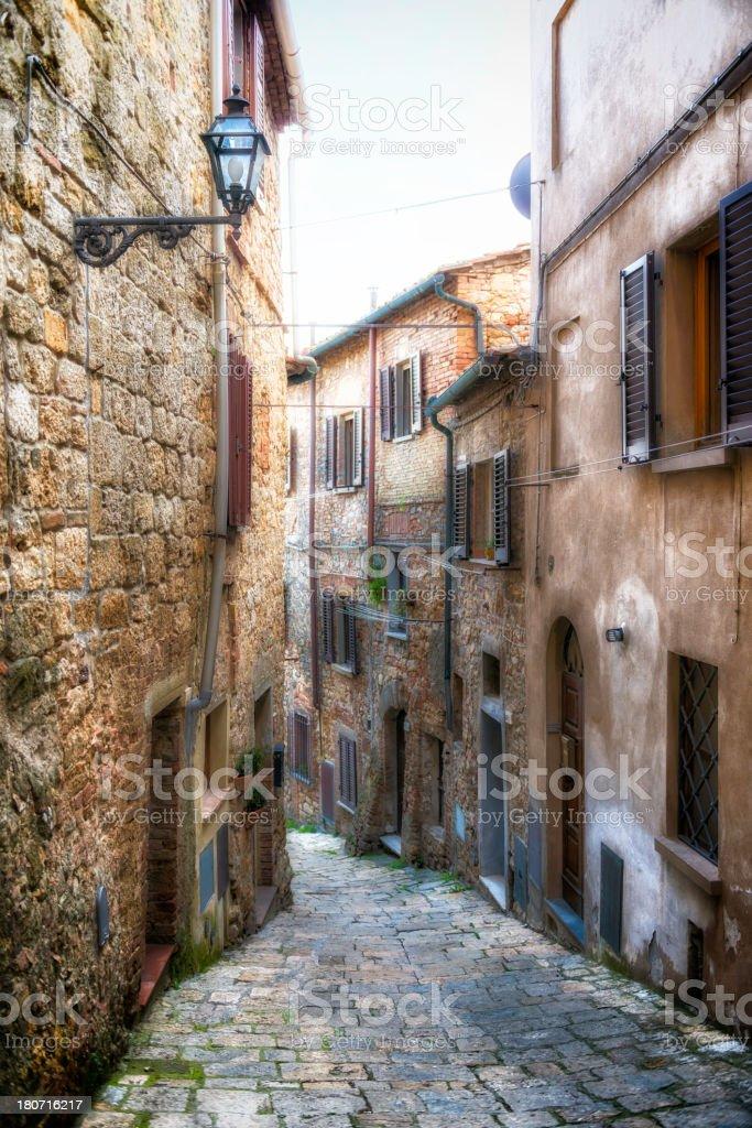 Italian alley royalty-free stock photo