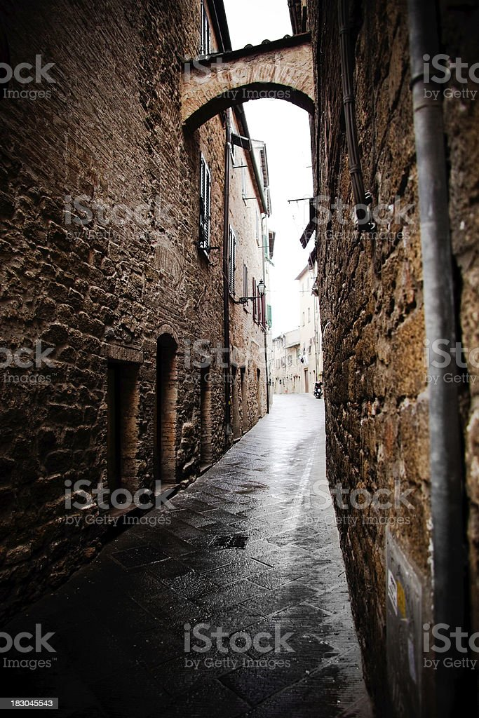 italian alley stock photo