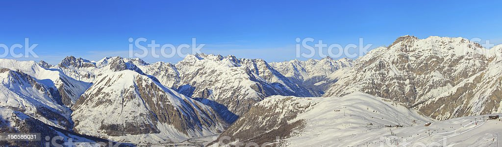 Italian Alps panorama royalty-free stock photo