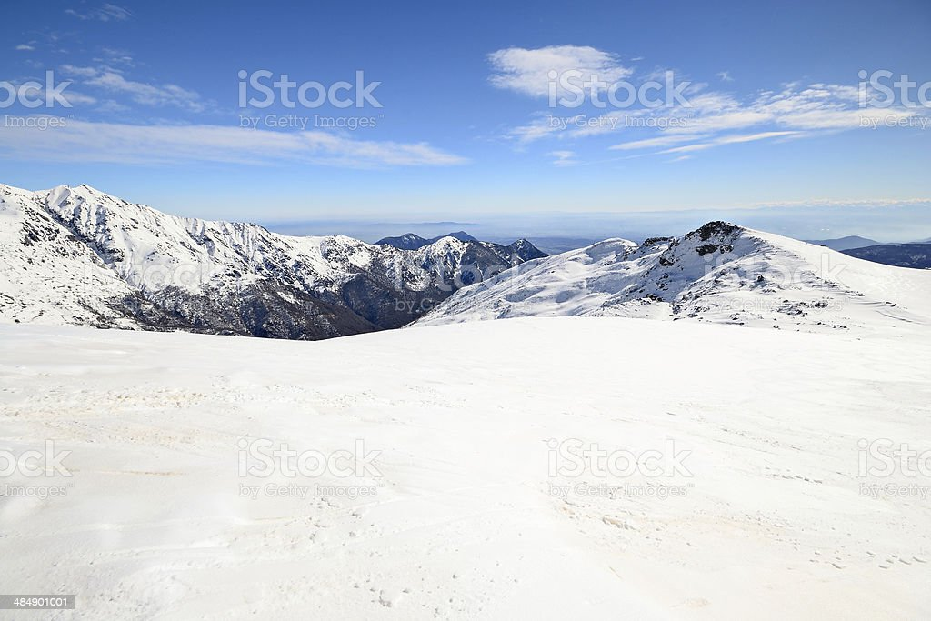 Italian Alps stock photo